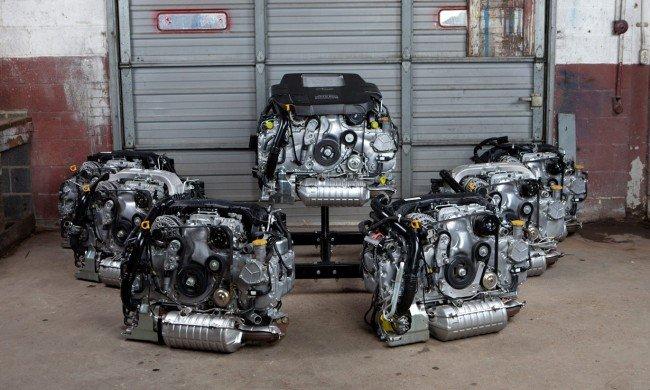 Двигатели концерна Subaru