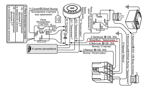 Встроенный турботаймер, вариант 2