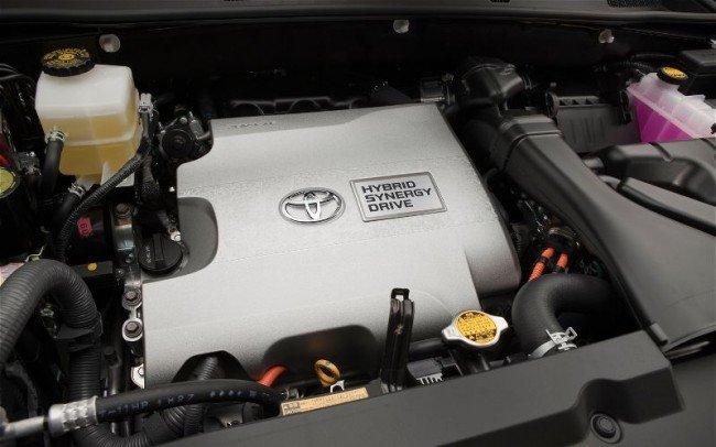 Гибридный силовой агрегат с двигателем V6 (бренд Toyota)