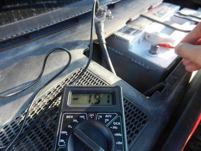 Измерение силы тока в авто