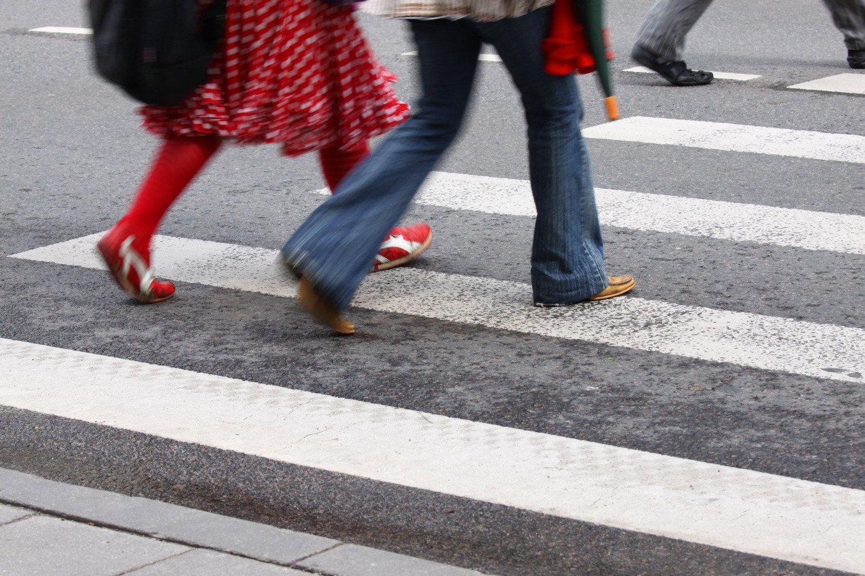 Правила перехода через дорогу