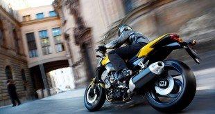Мотоцикл в городе