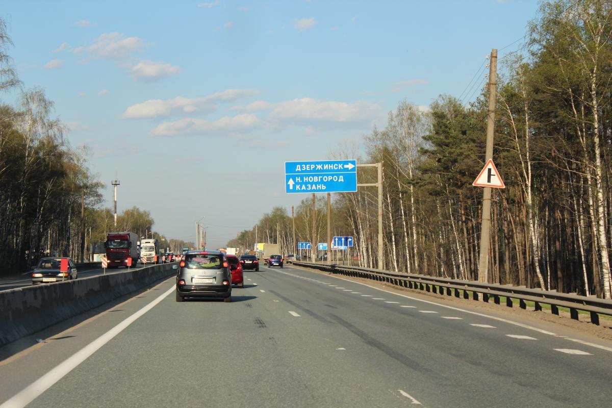 Нижний Новгород — Казань по трассе М7