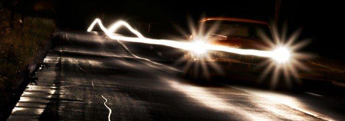 Как обезопасить себя от попадания в аварию на автомобиле в ночное время суток