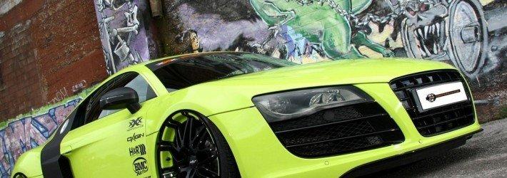 Audi R8 V10 получил уникальную «обувь» и прибавку в 125 л.с.