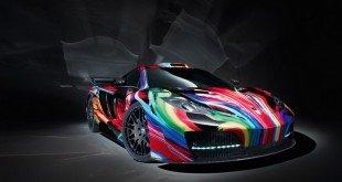 Ателье Hamann раскрасит суперкар McLaren за 95 000 евро