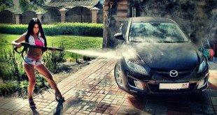 Помыть машину самому или на автомойке?