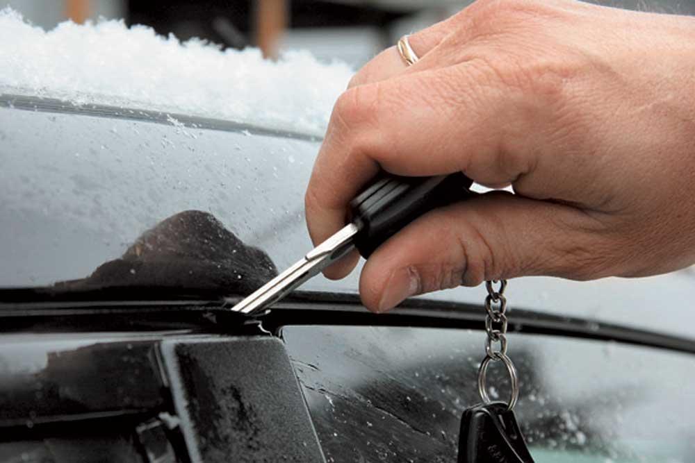 Что делать, когда автомобиль замерз?
