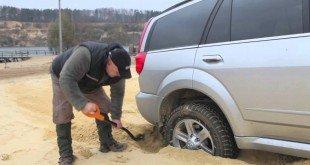 Езда по песку