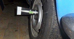 Регулировка схода-развала колес