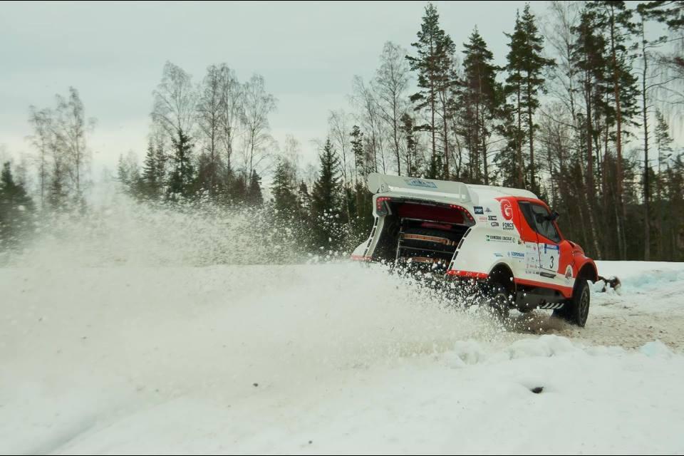 Этап ралли рейда России «Северный лес»