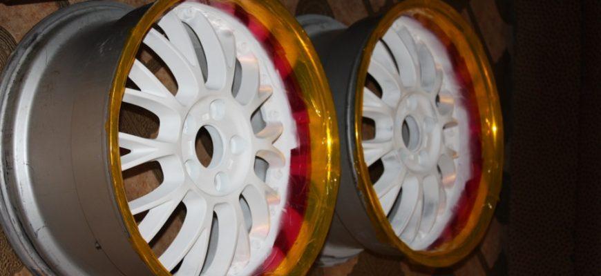 Красим литые диски своими руками