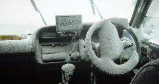 Запуск автомобиля зимой в мороз