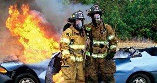 Действия при пожаре в автомобиле
