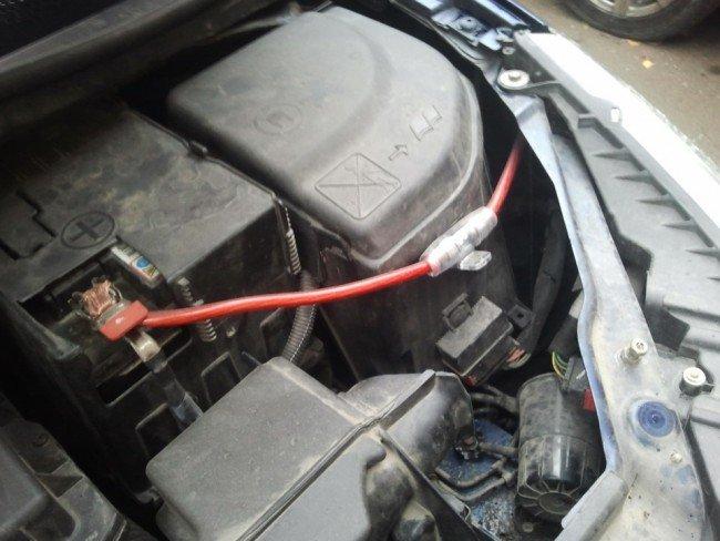 Установка и подключение автомобильного сабвуфера к магнитоле и усилителю