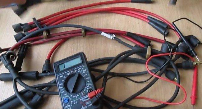 Как проверить бронепровода мультиметром видео
