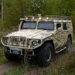 Гражданская версия автомобиля «Тигр»