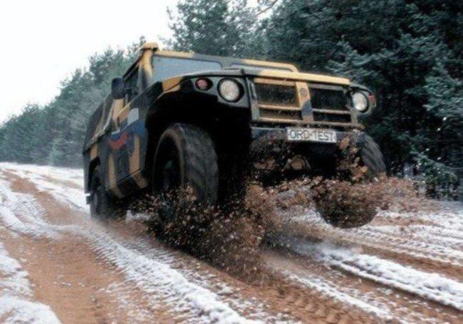 Тест-драйв автомобиля «Тигр»