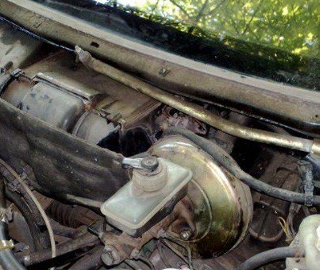 Вакуумный усилитель тормозов автомобиля ВАЗ 2110