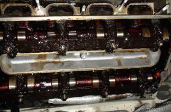 Масло чернеет в двигателе