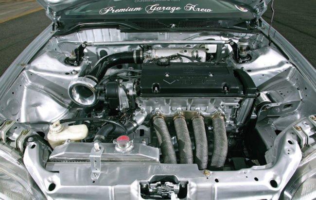 Форсированный двигатель honda civiс