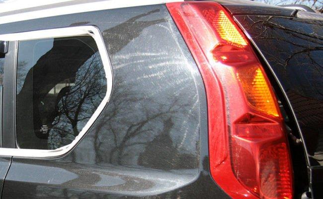 Голограммы на кузове авто после непрофессиональной полировки