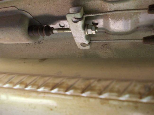 регулировка ручного тормоза на калине
