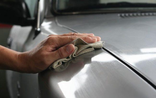 Ручная полировка кузова авто