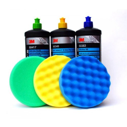 Средство для полировки кузова ЗМ и полировальные круги