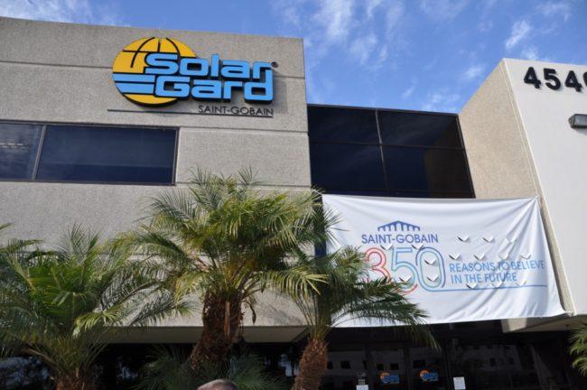 Завод по изготовлению плёнки для тонировки SolarGard