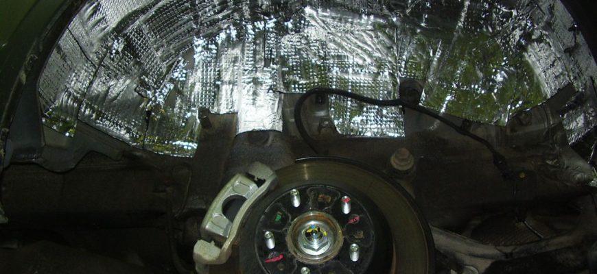 изоляция колёсных арок
