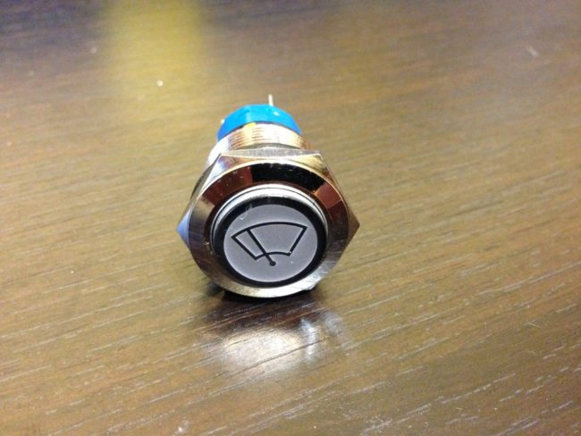 Кнопка для омывателя фар