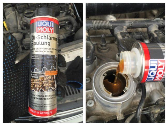 Oil-Schlamm-Spulug