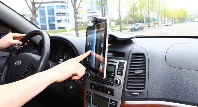 Держатель планшета для автомобиля