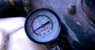 Проверка давления на бензонасосе