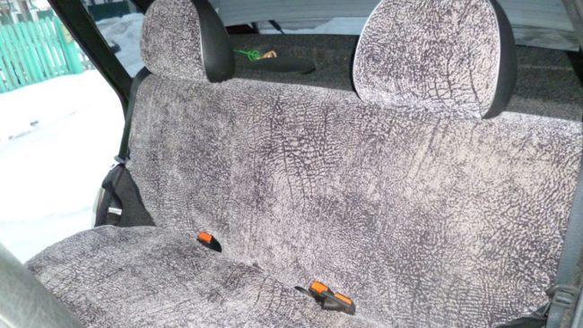 Заднее сиденье на ВАЗ 2110