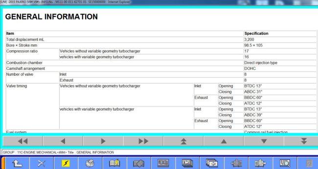 параметры двигателя