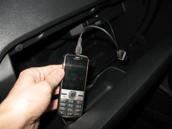 Подключение телефона к магнитоле через USB