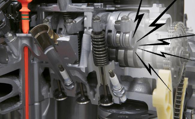 Посторонние стуки в двигателе