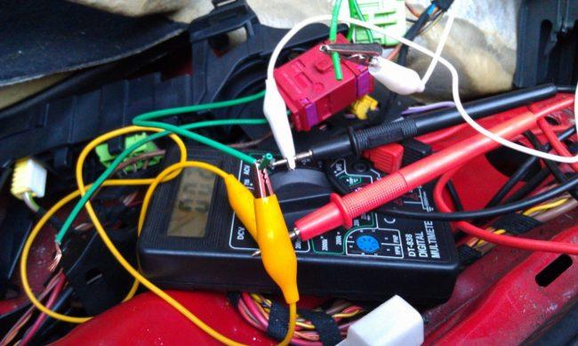 Проверка проводки автомобиля