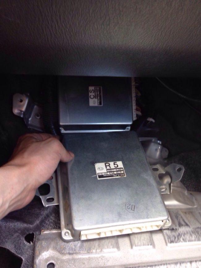 Замена блока управления двигателя