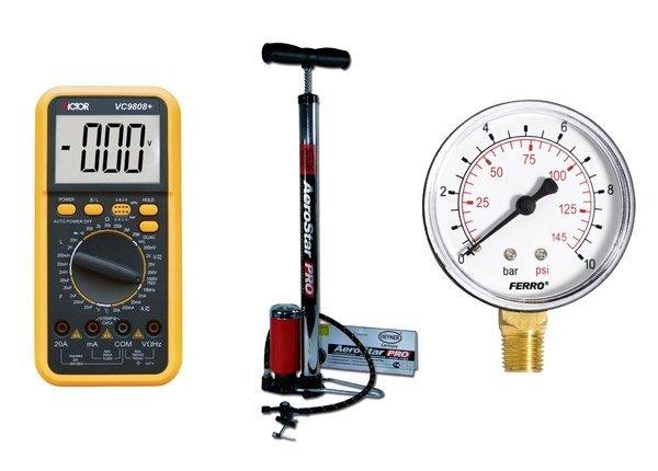 Инструменты для проверки электронного датчика