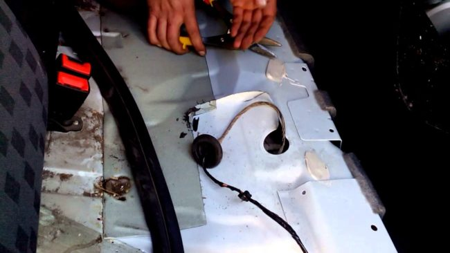 Провода на топливный насос