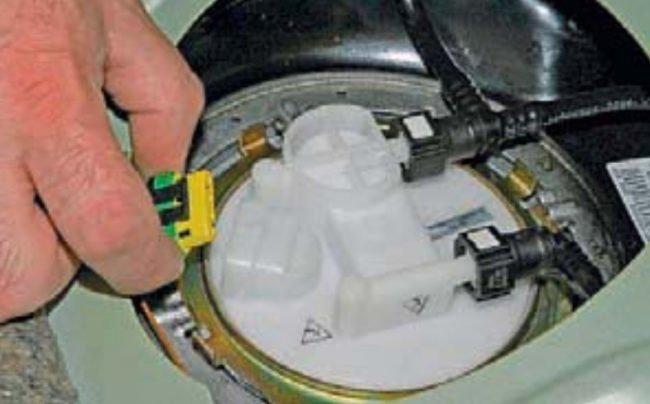 Разъём топливного модуля