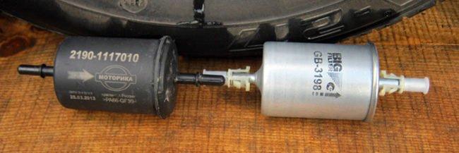 Топливный фильтр тонкой очистки автомобиля «Лада Приора»