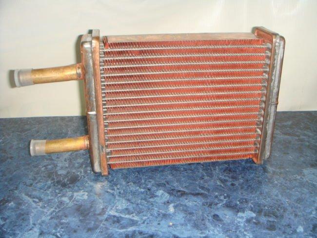 Радиатор печки из меди