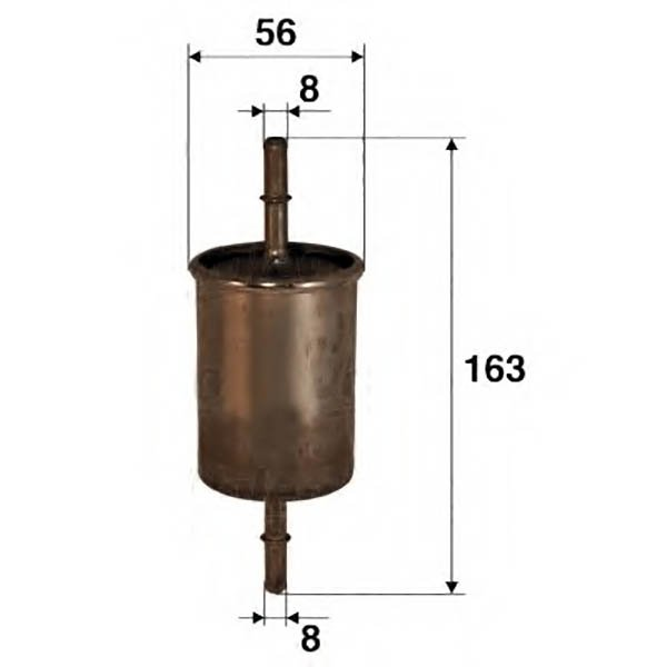 Размеры фильтра для ВАЗ 2170