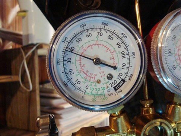 Калибровка счётчика давления