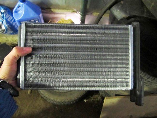 Новый радиатор печки