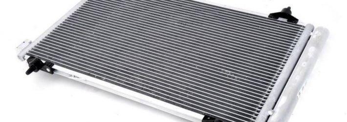 Радиатор кондиционера автомобиля